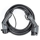 LEFANEV Elektrisches Auto Kabel (EV Ladekabel) für EV Charger Ladestation Typ 1 (SAE J1772) zu Typ 2 (IEC 62196-2) (Typ 1 zu Typ 2, 32A/Einphasig)