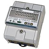 DRT428M-2 - Zweirichtungs- multifunktions- Drehstromzähler geeicht für DIN Hutschiene mit S0, IR, RS485 Modbus-RTU, saldierender gesamt kWh Anzeige, MID zertifiziert/geeicht