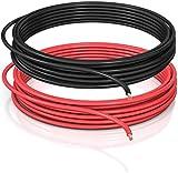 DCSk 2,5mm²- 5m - Fahrzeugleitung FLRY B asymmetisch - 2,50 mm² - KFZ-Kabel-Litze - Set Farbe rot/schwarz - 5 m Ring