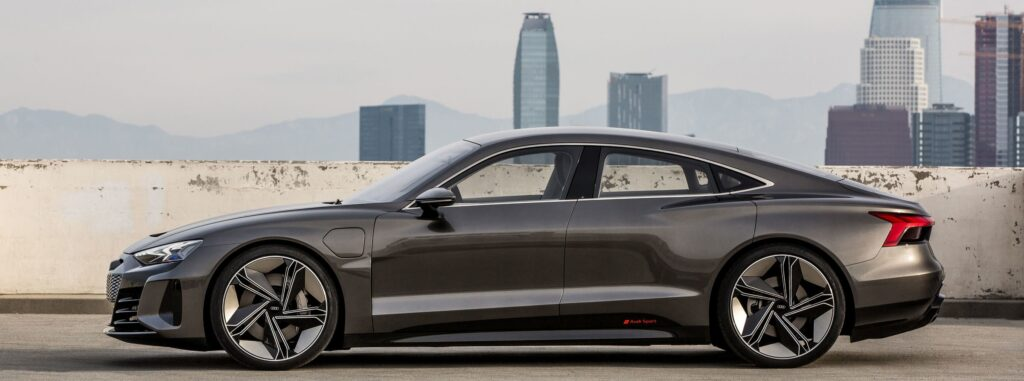 Audi Etron Ladestation