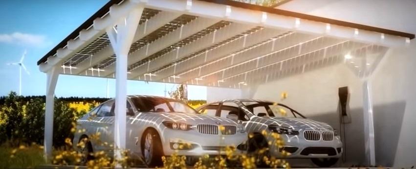 BMW Ladestation