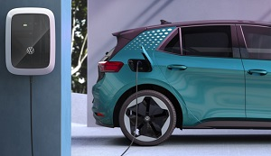 VW ID. Charger Ladestation